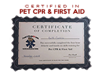 We're Pet CPR & First Aid Certified!